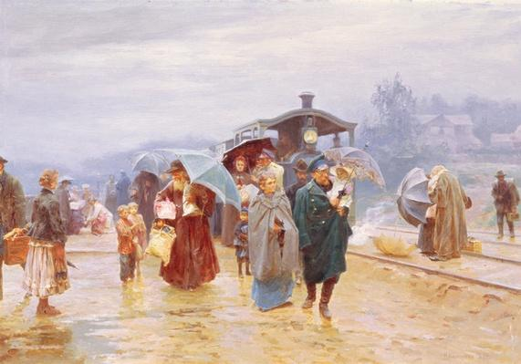 The Train has arrived, 1894
