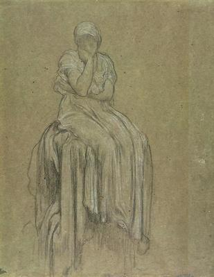 Study for Solitude, c.1890