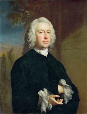 An Unknown Man in Black, 1735