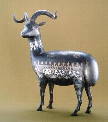 Damascene Ware goat
