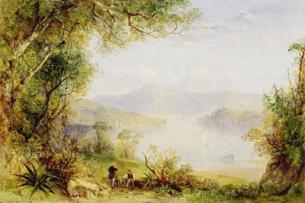 View on the Hudson River, c.1840-45