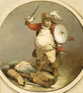 Falstaff with the Body of Hotspur, c.1786