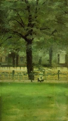 The Ladie's Mile, Kensington Gardens