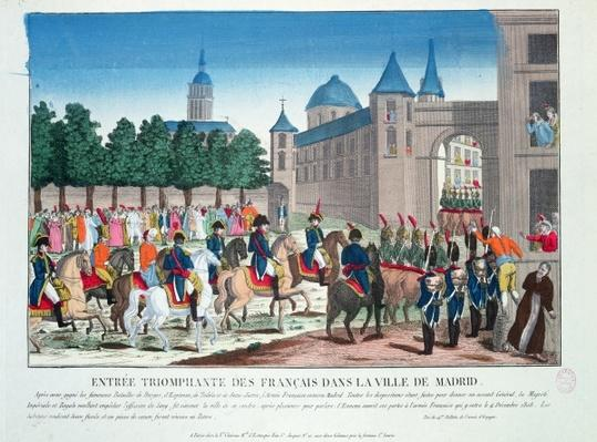 Triumphant Entry of the French into Madrid, 4th December 1808