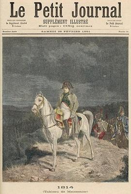 1814, from 'Le Petit Journal', 28th February 1891