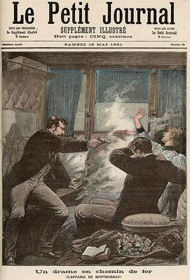 Drama on the Railways: The Montmoreau Affair, from 'Le Petit Journal', 16th May 1891