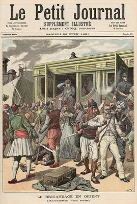 Bandits in the Orient: Arrests on a Train, from 'Le Petit Journal', 20th June 1891