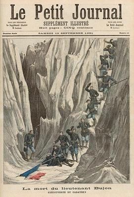 The Death of Lieutenant Bujon: The Discovery of his Body, from 'Le Petit Journal', 12th September 1891