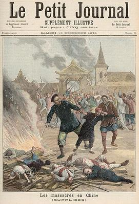 Massacre in China, from 'Le Petit Journal', 19th December 1891