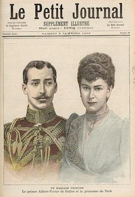 The Engagement of Albert Victor