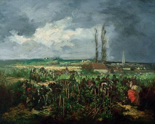 The Grape Harvest at Argenteuil, 1875