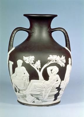 Wedgwood Stoneware copy of the Portland Vase, 1790