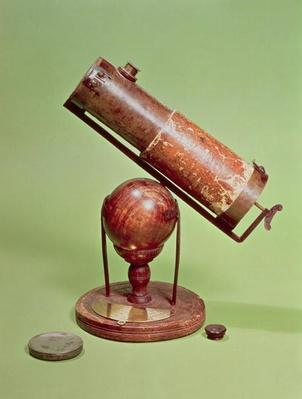 Telescope belonging to Sir Isaac Newton