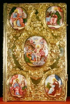Evangelical reliquary, Moscow School, 1772