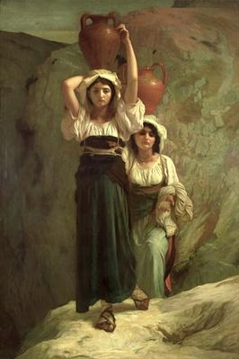 The Girls of Alvito, 1855
