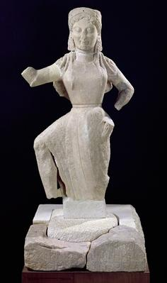 Nike, from Delos, c.550 BC