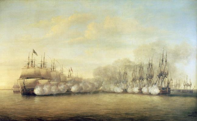 The Battle of Negapatam, 6 July 1782, 1786