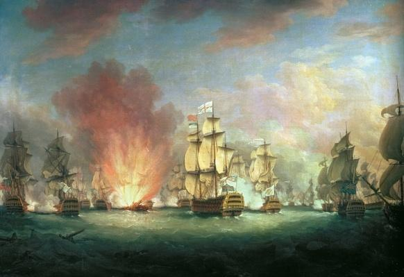 The Moonlight Battle: The Battle off Cape St Vincent, 16th January 1780