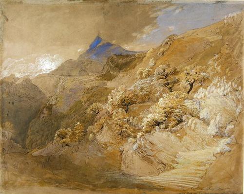 Mount Siabod from Tyn-y-Coed near Capel Curig
