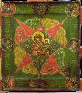 The Virgin of the Burning Bush, from Mount Athos
