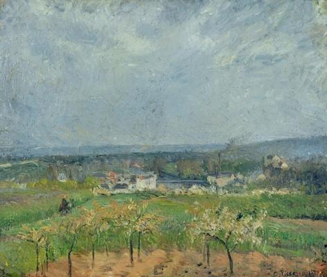 Landscape in Pontoise, 1877
