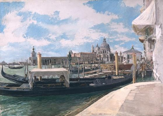 The Grand Canal, Venice, 1888