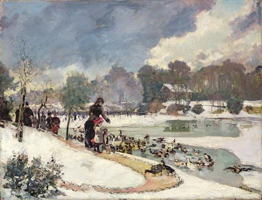 Ducks in the Bois de Boulogne