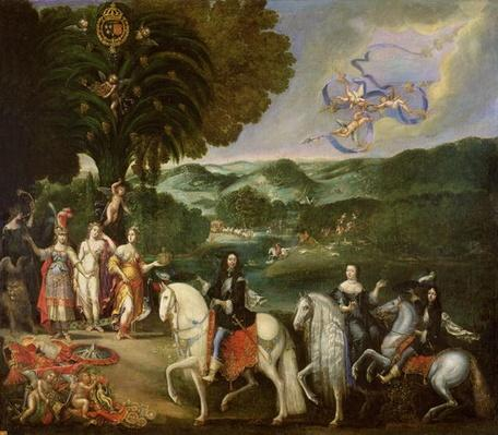 Allegory of the Marriage of Louis XIV
