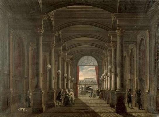 Interior of the Gare Saint-Lazare