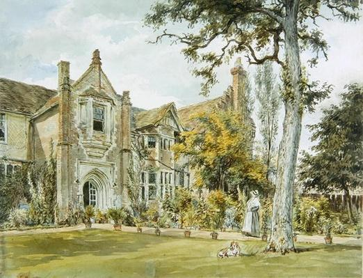 The Lecture House, Watford, c.1820