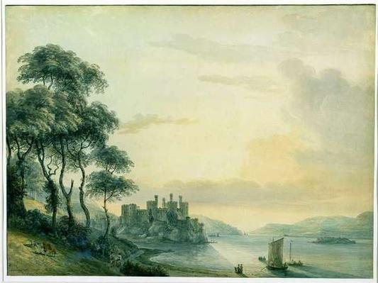 Conway Castle, 1789