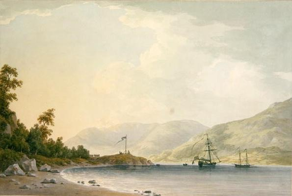 Approach to Belle Grange Park, 1789