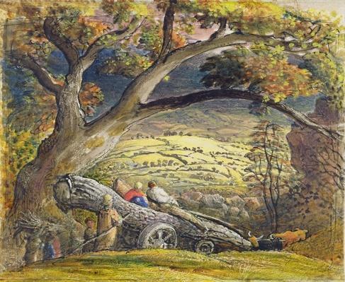 The Timber Wain, c.1833-34
