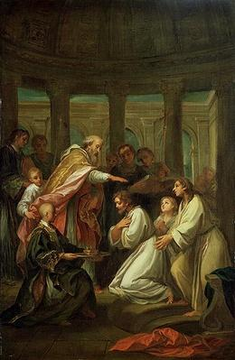 Baptism of St. Augustine