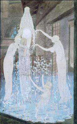 Illustration from 'Le Reve' by Emile Zola