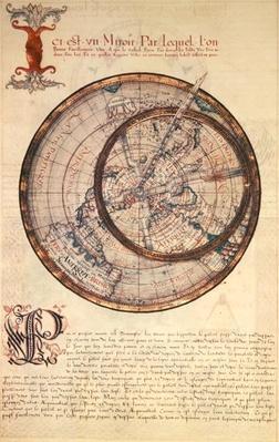 Ms Fr 150 fol.25v Mirror, from 'Les Premieres Oeuvres de Jacques Devaulx Pilote en la Marine', 1583