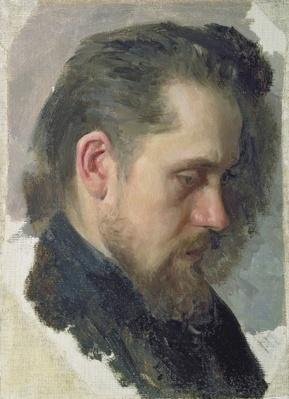 Portrait of the author Nikolay Pomyalovsky, 1860
