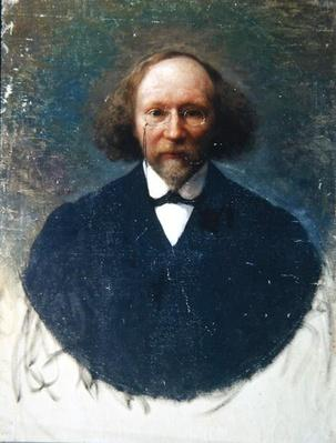 Portrait of the author Vyacheslav Ivanov, c.1910