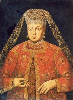 Portrait of Tsarina Marfa Matveyevna