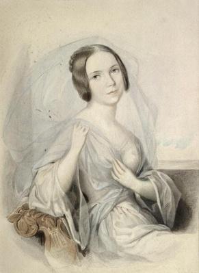 Portrait of Henriette Gertrude Sontag