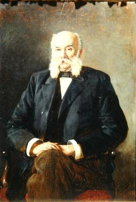 Portrait of Ivan Gontcharov, 1888