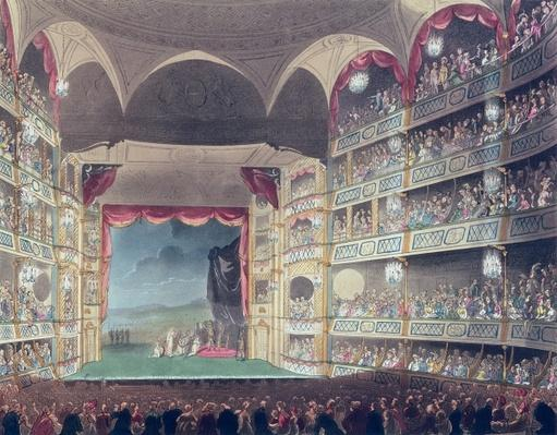 Interior of Drury Lane Theatre, 1808