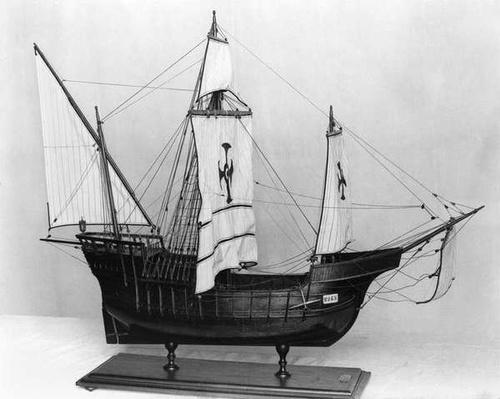 Caravel of Christopher Columbus
