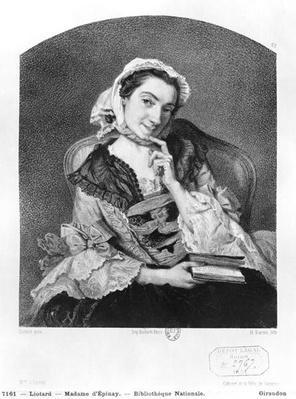 Louise Tardieu d'Esclavelles, known as Madame d'Epinay