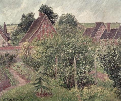 Landscape with Cottage Roofs, 1899