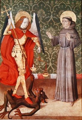 St. Michael and St. Francis of Assisi, c.1480