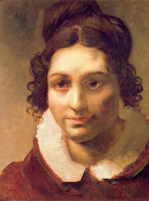 Suzanne or Portrait presumed to be Alexandrine-Modeste Caruel de Saint-Martin, the artist's aunt, 1817