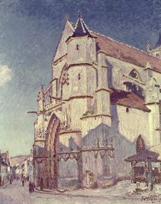 The Church at Moret, 1894