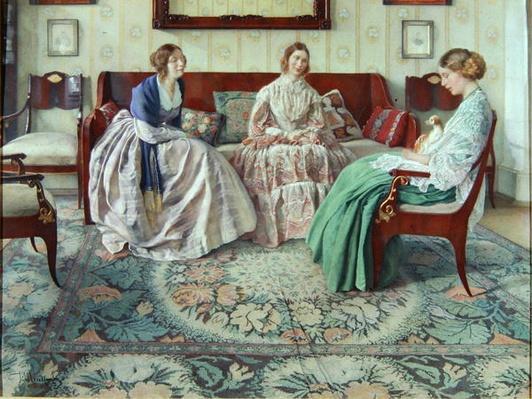 Three Ladies, 1916