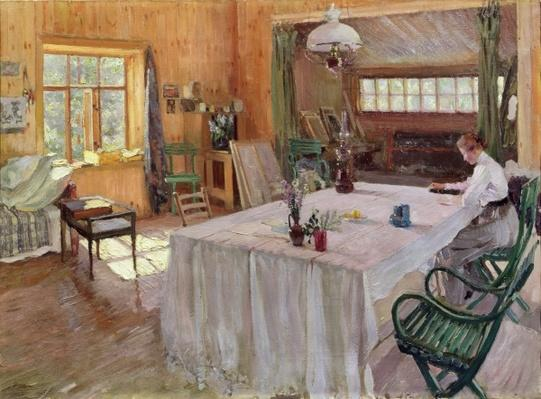 In the House of the Artist Konstantin Korovin